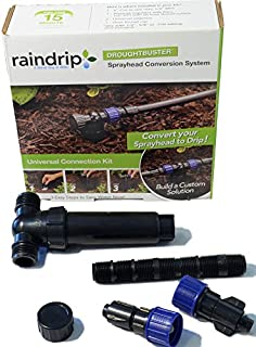 Raindrip 2 Outlet Drip System Filter Regulator Converts Underground to Drip