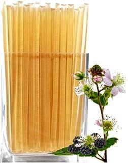 Floral Honeystix - Blackberry Blossom - 100% Honey - Pack of 50 Stix - Honey Sticks by Nature's Kick