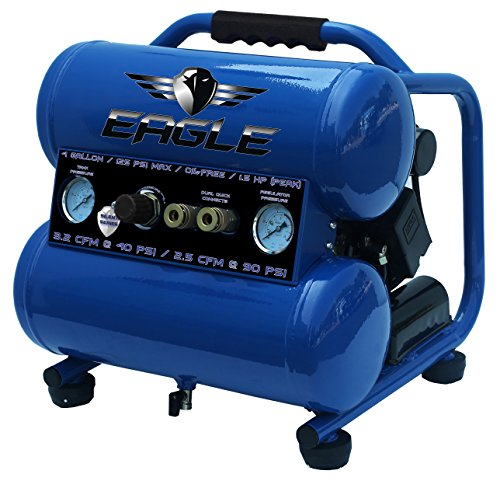 Eagle EA-4000 Silent Series 4000 Air Compressor 125 psi MAX...