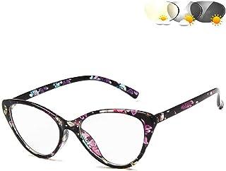 Progressive Multifocus Bril, Transition Photochromic Leesbril, Veraf En Dichtbij Leesbrillen Ultralight Anti Glare Eye Str...