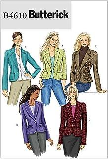 BUTTERICK PATTERNS B4610 Misses' Jacket, Size AA (6-8-10-12)