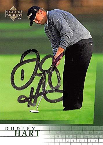 Dudley Hart autographed golf card (PGA, Florida Gators) 2001 Upper Deck #43 - Autographed Golf Equipment