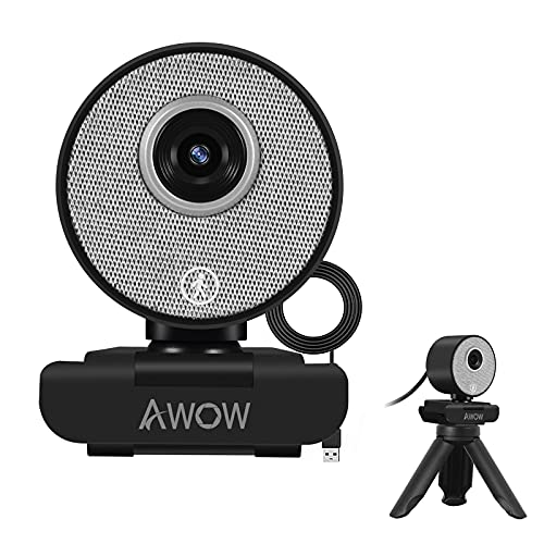 AI Humanoid Auto Tracking Webcam 1080P - AI Face Recognition, Auto Zoom HD...