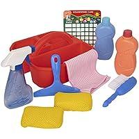 Playkidz 10 Piece Cleaning Helper Pail Caddy Set