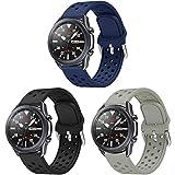 Syxinn Compatibile con 22mm Cinturino Galaxy Watch 3 45mm/Galaxy Watch 46mm/Gear S3 Frontier/Classic Braccialetto Silicone Cinturinoi Polso Band per Huawei Watch GT/GT 2 46mm/GT 2e/Ticwatch Pro