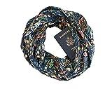 Thea ~ Infinity Scarf w/ Secret Zipper Pocket, Spring Travel Scarf, Made in U.S.A.