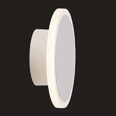 AEG lamp Mala LED applique murale blanc |1x LED 7W intégrée (puce SMD), (700lm, 3000K) |Échelle A ++ à E |Gradable à l'infini via un variateur mural