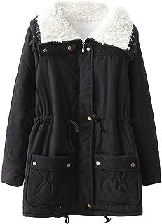 ACE SHOCK Winter Coats for Women Plus Size, Faux Fur Lined Parka Jackets Long Warm 11 Colors XS-2X