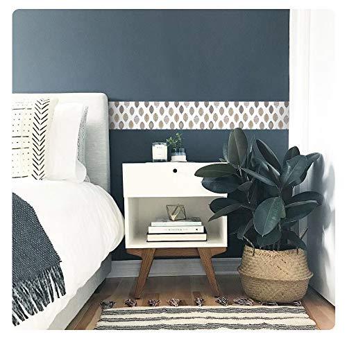 setecientosgramos Cenefa Decorativa Auto-Adhesiva   Decoración de Pared   Hogar-Cocina-Baño-Dormitorio   5 m x 15 cm   Otoño