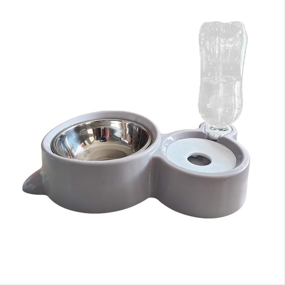 Bebedero Automático Para Mascotas Perro Gato Alimentador Para Gatos Boca Redonda Húmeda Acero Inoxidable Recipiente Integrado Bebedero: Amazon.es: Bricolaje y herramientas