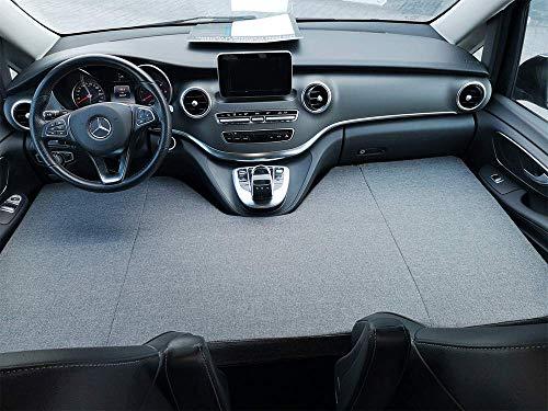 kfoam.es Colchón Plegable Cama Delantera Camper para Mercedes Clase V Color Gris (+2014)