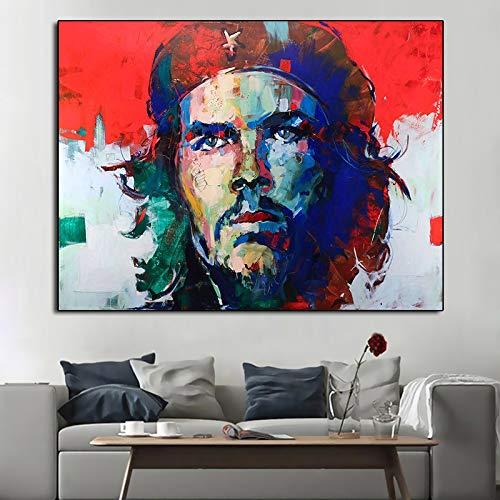 wojinbao Kein Rahmen Berühmte Porträt-Öl-Plakat-Malerei Gedruckte Wandkunst-Figurenbilder Grafik-Cuadros-Hauptdekor für Wohnzimmer-Plakat-Malerei