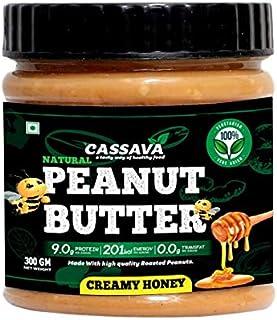 Cassava Peanut Butter, All Creamy Honey, 300G ( No Hydrogenated / Palm Oil , No GMO / Gluten Free )