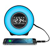 LA Crosse Technology Mood Light Alarm Clock with Nature Sounds alarm clock with nature sounds May, 2021