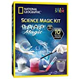 NATIONAL GEOGRAPHIC Magic Chemistry Set - Perform 10 Amazing Easy Tricks with Science, Create a Magic Show with White Gloves & Magic Wand, Great STEM Learning Science Gift for Boys and Girls