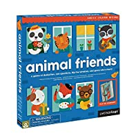 Petit Collage Knock Who's There Animal Friends Board Game [並行輸入品]