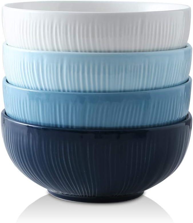KOOV Porcelain Cereal Bowls Set outlet Ounce High quality La 34 Ceramic Soup