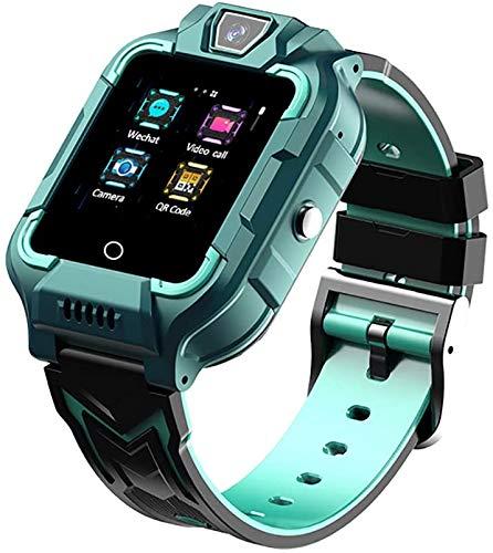 PUZOU Niños Smartwatch 4G Wifi GPS Lbs Tracker Sos Llamada de Emergencia Video Chat Niños Smartwatches Ip67 Impermeable Alarma Podómetro Para Niños y Niñas