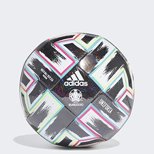 adidas Uniforia Training Soccer Ball Black/Signal...