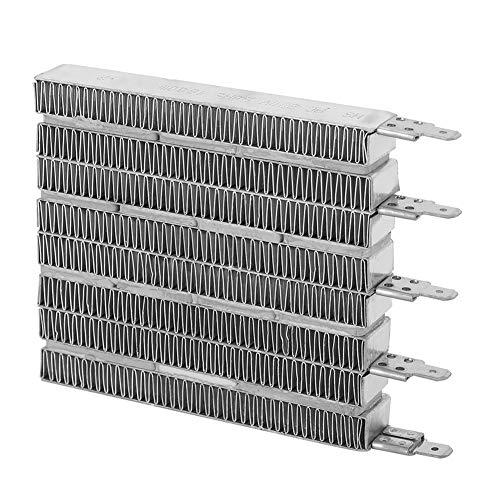 Liujaos Accesorio para Calentador de Aire, Accesorios automáticos para Calentadores eléctricos de Temperatura Constante, cerámica PTC de Seguridad Que Ahorra energía para Calentadores eléctricos