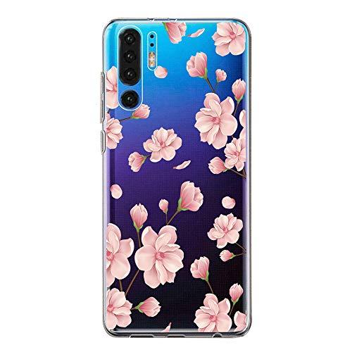 Hülle Case für Huawei P30 Handyhülle,Huawei P30 Pro Schutzhülle Ultradünn Transparent Silikon Soft TPU Crystal Clear Bumper Schutzhülle für Huawei P30 Lite Hülle (3, Huawei P30 Pro)