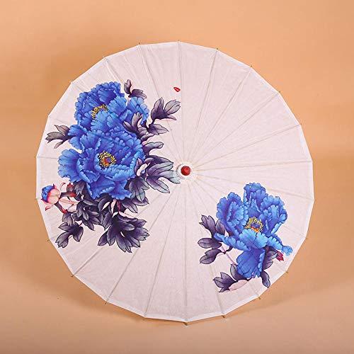 MISSLCS - Paraguas de Papel de Aceite para decoración de Techo, diseño de sombrilla, Color Rojo