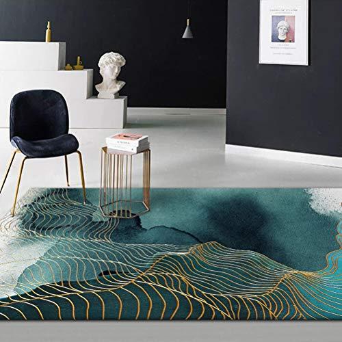 LK-HOME Tapis antidérapant,Convient pour Les Tapis décoratifs de Cuisine de Chevet de canapé de Table Basse de Salon,Tapis Peint à l