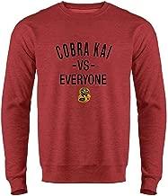 Cobra Kai Vs Everyone The Karate Kid Martial Arts Crewneck Sweatshirt for Men