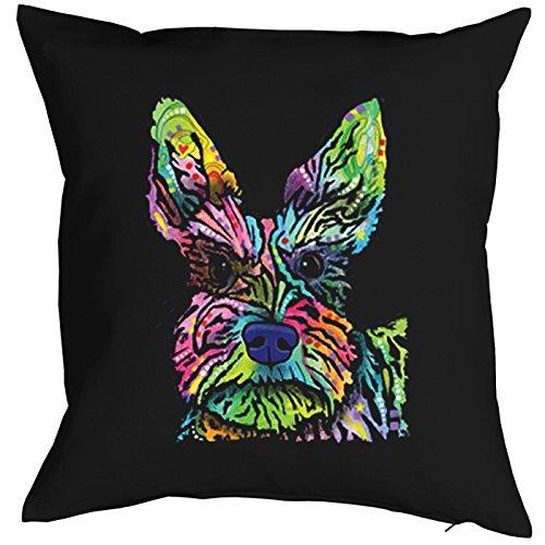 Stella Dog Pillow, oreiller, almohada, Cuscino Pop Art Style