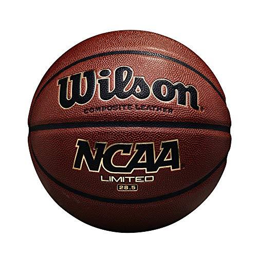 "Wilson NCAA Limited Basketball, Intermediate - 28.5"", Brown"