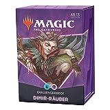 Magic The Gathering Challenger Deck 2021 – Depredadores Dimir (Azul/Negro) – Versión Alemana (Wizards of The Coast C91201000)