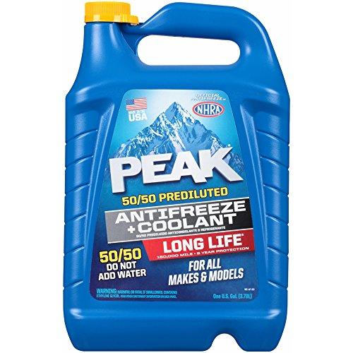 Peak 50/50 Prediluted Antifreeze & Coolant, 2 pk./1 gal.