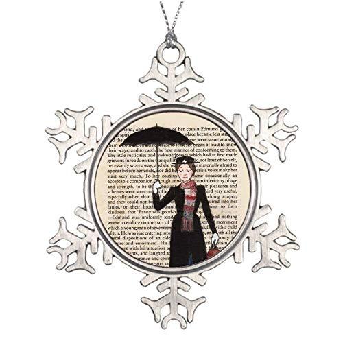 VinMea Xmas Snowflake Ornaments Mary Poppins Christmas Snowflake Ornaments Ideas For Decorating Christmas Trees