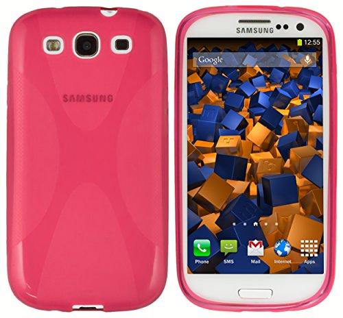 mumbi Hülle kompatibel mit Samsung Galaxy S3 / S3 Neo Handy Case Handyhülle, pink