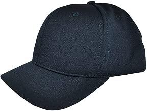 Smitty   HT-304   4 Stitch Flex Fit Umpire Hat   Baseball Softball   Black or Navy Choice   Umpire's Choice!