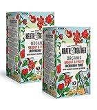 Heath & Heather Infusión Orgánica con manzana, hibisco, guaraná y ginseng - 2 x 20 bolsitas de té (80 gramos)
