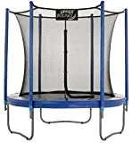 Upper Bounce Premium Large Trampoline and Enclosure Set Equipped with Easy Assembly Feature   Outdoor Trampoline with Safety Enclosure Net   Ultra Durable Foam Mat and Safety Pads (12 Feet - 3.66 m)