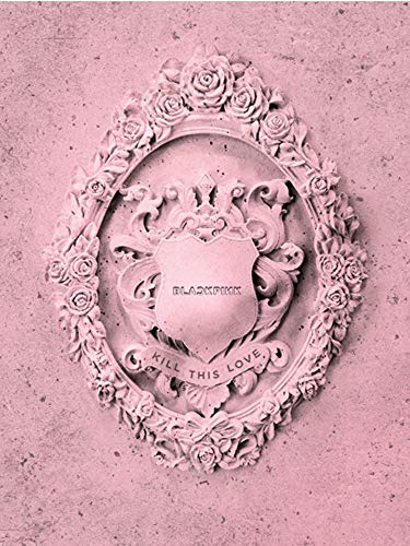 BlackPink Kill This Love 2nd Mini Album (Pink Version) CD+Poster On Pack+Photobook+4...