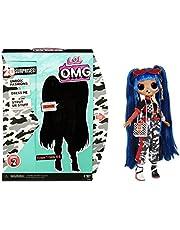 L.O.L. Surprise! 570295PE7C LOL Surprise OMG 38 Doll- Downtown BB, 25 cm stor rörlig modedocka med 20 överraskningar