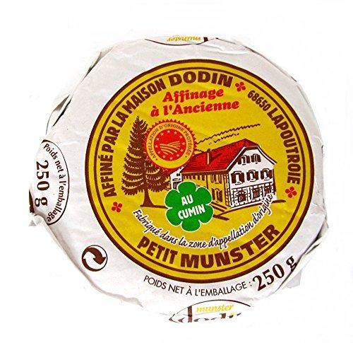 Münsterkäse Münster Käse mit Kümmel aus Frankreich 4 x 250 g Stücke