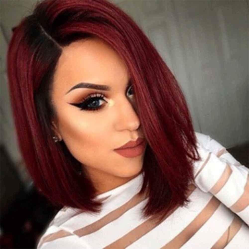 zZZ European and Spasm price American Wigs Send Hair W Gradient Soldering Ladies Color