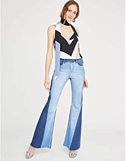 CALCA JEANS FLARE DOUBLE JEANS