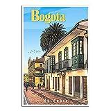 Bogota – Kolumbien Vintage Reise-Poster Schlafzimmer Deko