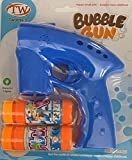 Bahob® Bubble Shooter Gun Light Up Bubbles Blower with LED Flashing Lights Toys