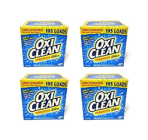【まとめ買い】 OXICLEAN(オキシクリーン) STAINREMOVER 4.98kg シミ取り 漂白洗剤 4箱セット