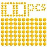 LAOYE 100Pcs Balles Recharge Compatible pour Nerf Rival Artemis Apollo Zeus Blasters, Nerf Munition Bille Balle Bullet pour Enfants Gamins Jouets, Balle pour Nerf Rival Non Original