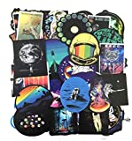 DZCYAN 50 PCS Outer Space Sticker UFO Alien Astronaut Rocket Cartoon Stickers Gifts Toys for Children DIY Skateboard Laptop Car Phone