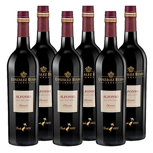 Vino Oloroso Alfonso de 75 cl - D.O. Jerez - Bodegas Gonzale