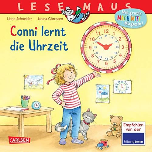 LESEMAUS 190: Conni lernt die Uhrzeit (190)