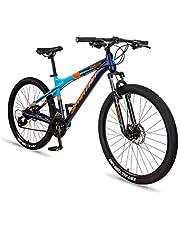 دراجة هوائية امبيزو جبلية للرجال مصنوعة من خليط معدني مقاس 27.5 انش من سبارتان، بلون ازرق